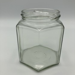 Glas 6-kant 500gr/390ml...
