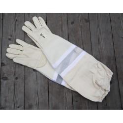 Handske ventilerad läder