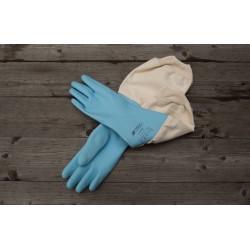 Handske Latex med ärmkappa