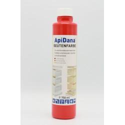 ApiDana® Kupfärg 750 ml röd